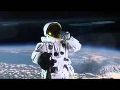 Astronaut Uses Ultimate Selfie Stick on Space Walk