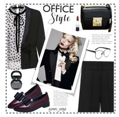 """""""Office Style"""" by goreti ❤ liked on Polyvore featuring TrickyTrend, stylish, outfits and rosegal"""