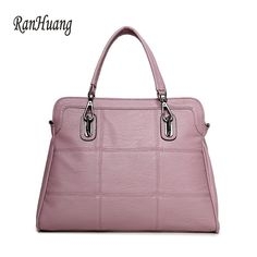 RanHuang Women Luxury Handbags Large Tote Bags Women's Fashion Shoulder Bags High Quality Pu Leather Handbags Plaid Bags A956 #Affiliate