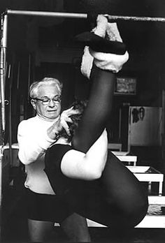Joseph Pilates Loved and Pinned by www.downdogboutique.com to our Yoga community boards