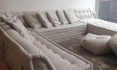 FUTON COMPANY. Sofa Cama Futon Almofada Sofa Design Assinado.