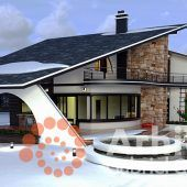 Casa cu etaj 58 | Proiecte de case personalizate | Arhitect Gabriel Georgescu & Echipa Modern House Facades, Modern House Plans, Amazing Architecture, Architecture Design, House Design Pictures, Small House Interior Design, Kerala House Design, Kerala Houses, Facade House