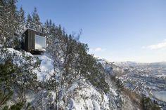 Fantastical Tapered Entrance, Tubakuba Mountain Retreat | Architect Magazine…