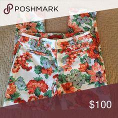 Floral Pants Floral Printed Pants. Soo Comfy!! Cartonnier Pants Ankle & Cropped