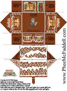 Britts virk och miniatyrblogg: Gingerbread house