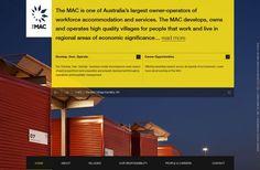 The MAC Services Group - Best website, web design inspiration showcase