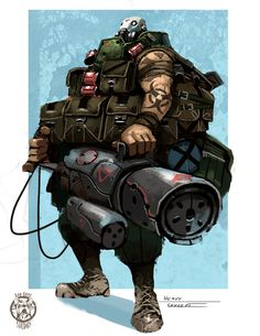 The Heavy by Colorbind on DeviantArt