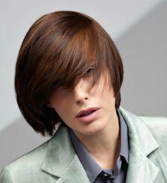 Coloration cheveux : Le châtain cuivré