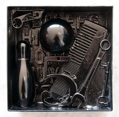 Bringing Art Home: Louise Nevelson Shadow Boxes #diy #art #black