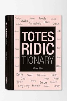 Totes Ridictionary By Balthazar Cohen  - Urban Outfitters