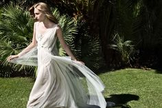 How did you started designing bridal gowns and how long have you been designing? I have been designing bridal and evening wear . European Wedding Dresses, Designer Wedding Dresses, Bridal Dresses, Wedding Gowns, Flattering Wedding Dress, Greek Fashion, Bridal Fashion Week, Bridal Collection, Elegant Dresses