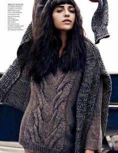 vanessa dan martensen5 Vanessa Moreira Keeps it Casual for Dan Martensen in Elle Italia Spread