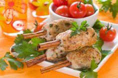 Kebab Chicken on the cinnamon sticks. | CULINARY BOOK