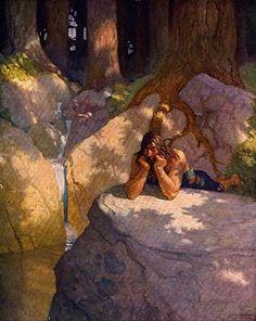 N C Wyeth Boy's King Arthur