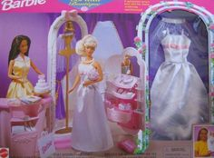 Barbie Bridal Boutique Playset w Gown & Veil Included (1998 Arcotoys, Mattel) by Arcotoys, Mattel. $169.99