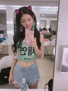 Kpop Girl Groups, Korean Girl Groups, Kpop Girls, Summer Outfits, Cute Outfits, Girl Outfits, Korean Beauty, Asian Beauty, Jung Chaeyeon