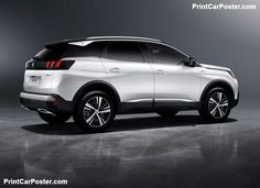 Peugeot 3008 GT 2017 poster, #poster, #mousepad