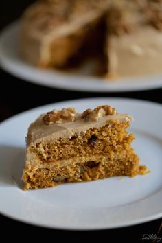 The perfect carrot cake (step by step) - recette - Pastel de Tortilla Spanish Desserts, Carrot Cake, Us Foods, Food Inspiration, Banana Bread, Cake Recipes, Carrots, Bakery, Deserts