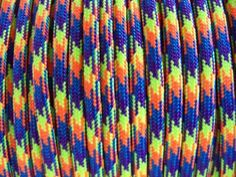 50 Feet Gobstopper Paracord - 550 Type III 7 Strand Parachute Cord - Made in America Nylon Cord. 550 Paracord great for all your indoor and outdoor projects! Boat Safety, Outdoor Knife, Parachute Cord, 550 Paracord, Shirt Quilt, Made In America, Outdoor Projects, Discount Uggs, Discount Universe