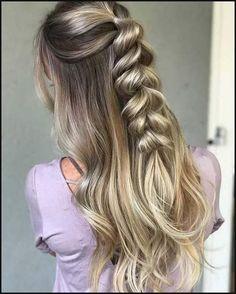 686 besten Frisuren Bilder auf Pinterest | Frisur ideen, Haar ... | Einfache Frisuren
