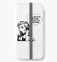 'Woman' iPhone Wallet by Iphone Wallet, Iphone 6, Open Book, Games To Play, Wallets, Woman, Stuff To Buy, Purses, Women