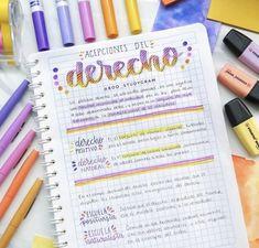 No photo description available. Bullet Journal School, Bullet Journal Notes, Bullet Journal Ideas Pages, Bullet Journal Inspiration, Cute Notes, Pretty Notes, Good Notes, Class Notes, School Notes