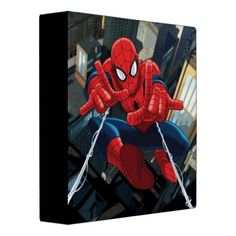 Ultimate Spider-Man over City Vinyl Binder will be great for back-to-school!