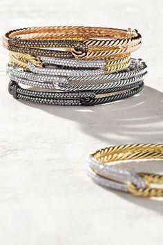 Petite Pavé Bracelets