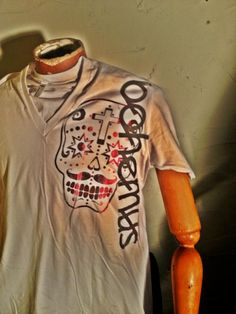 Medium American Apparel  Vneck T shirt in by TheBohemusProject, $15.00