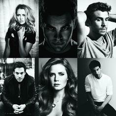 Gun Shy dream cast <3 Teresa Palmer as Cassie Chris Pine as Damon Liam Hemsworth as Leo Chris Wood as Chris Amy Adams as Amanda Jon Bernthal as Ray