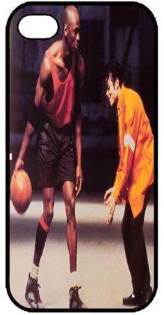 Custom Cell Phone case Michael Jordan vs. by UniqueWorldofImages, $13.50