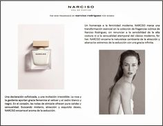 Me lo dijo Fani: NARCISO, nueva fragancia femenina