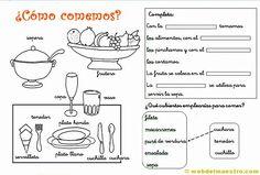 Utensilios de cocina: actividades