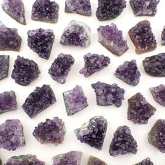 ONE Amethyst crystal cluster from Brazil - appx. or appx - natural purple raw stone mineral specimen geode chunk Amethyst Cluster, Crystal Cluster, Amethyst Gemstone, 20 Stone, Flower Of Life, 1 Piece, Im Not Perfect, Treats, Crystals