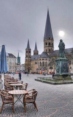 Münsterplatz - Bonn, North Rhine-Westphalia, Germany