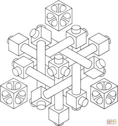 Visual Illusion Coloring Pages Download And Print For Free
