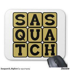 Sasquatch, Bigfoot Mousepad