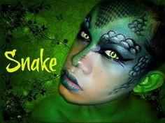 Halloween 2012 : Reptile ''Snake''  (Collab. w/ ThePrinceOfVanity)
