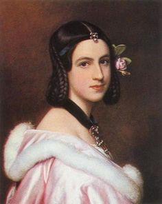 1837 Lady Jane Erskine by Joseph Karl Stieler