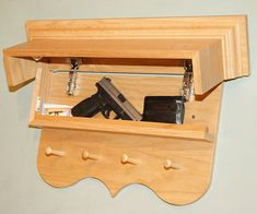 Flex your constitutional right to bear arms in your home - discretely - with this line of gun concealment furniture. With a stylish and simple design perfect...