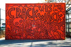 TheCrack is Wackmural in New York City is more than just one of the most recognized works by the legendaryKeith Haring.