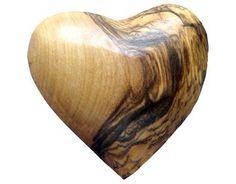 oder wie wäre es mit einem Handschmeichler- Herz aus Holz?