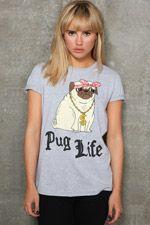 Gemma Correll - T-shirt « Pug Life »