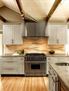 Neutral Transitional Kitchen Pictures: Sands of Time : Rooms : Home & Garden Television