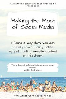 How To Make Money Online: Making the Most of Social Media