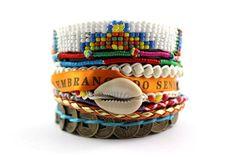 Blondie Brazilian Style Hipanema Wrap Bracelet