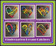 """I Have a Dream!"" Dream Catchers from Rainbows Within Reach"
