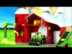 #JohnDeere Power Drive Toys -watch the video #gifts