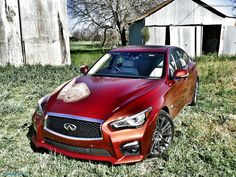 2016 Infiniti Q50 Red Sport 400 For Sale  Hi Res Image