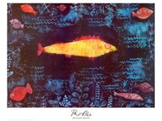 Klee, The Golden Fish, 1925